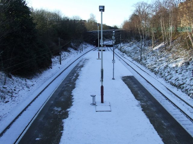 Pollokshields West railway station