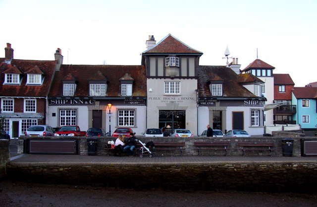 The Ship Inn & Co at Lymington Quay