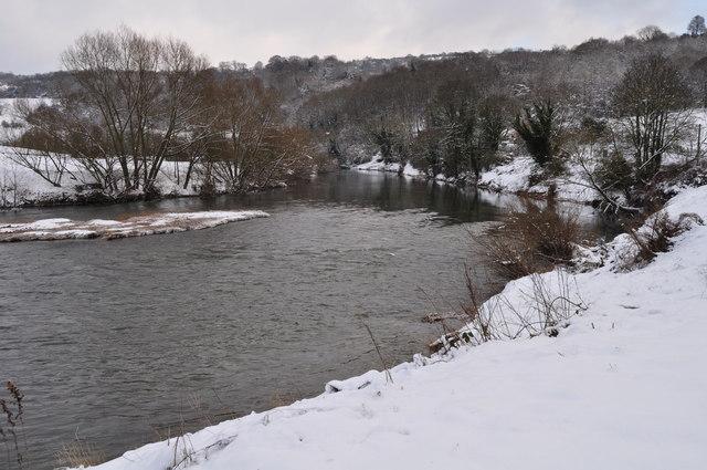 River Wye at Lydbrook