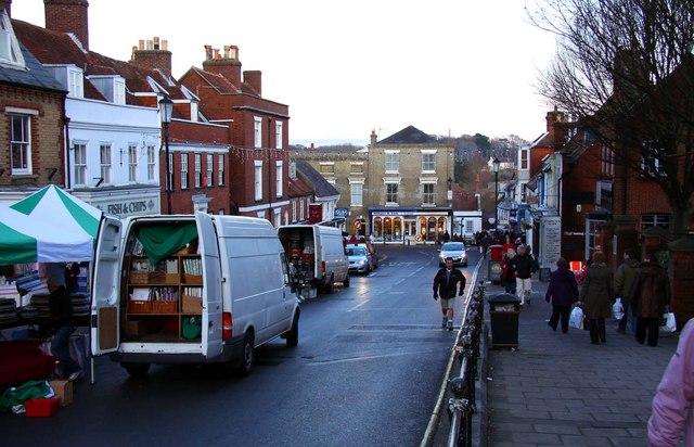 High Street on Market Day