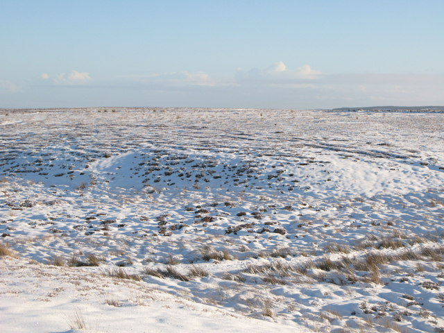 Snowy panorama from the Foumart Hills (3: E - Short Rigg)