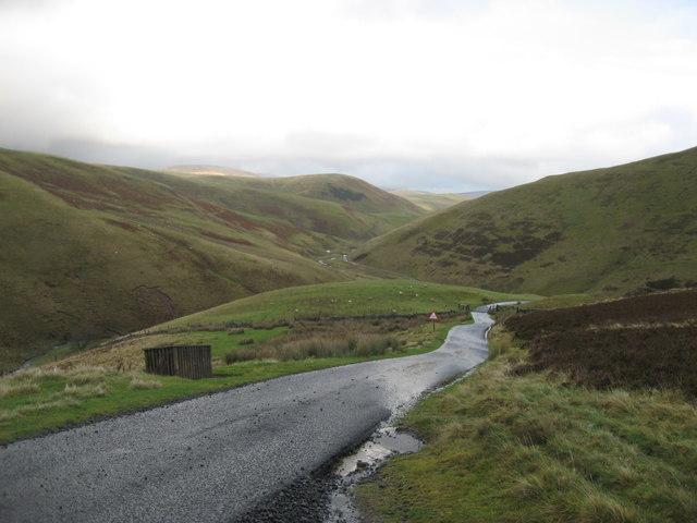 Military road near Makendon