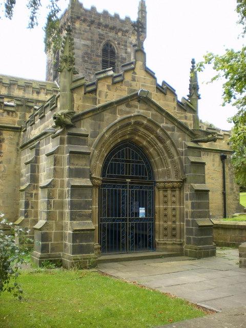 St Peter's Church, Birstall, Porch