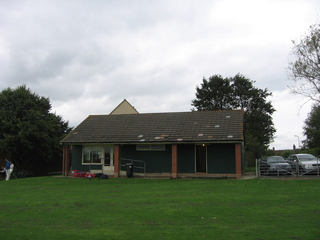 Cricket pavilion, Rode