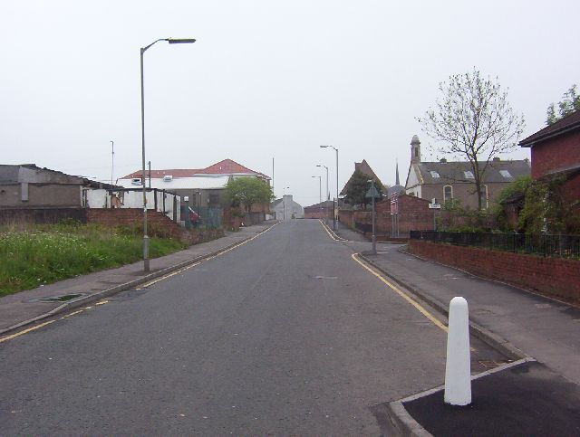 Baillieston, Church Street