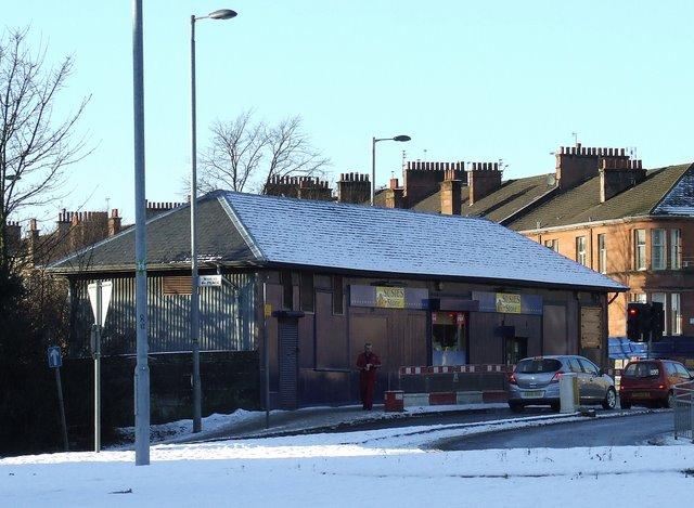 Former Strathbungo railway station building