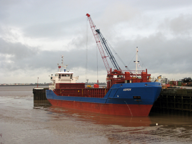 """Aspen"" at New Holland Dock"