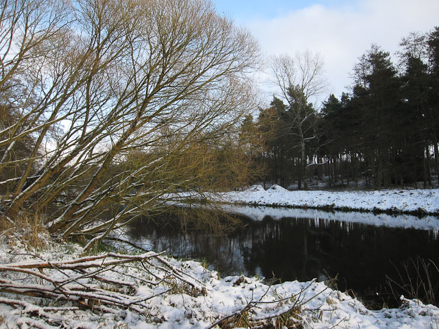 Little River Ouse in the snow