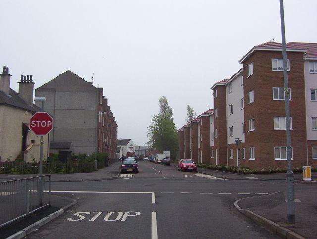 Baillieston, Dyke Street