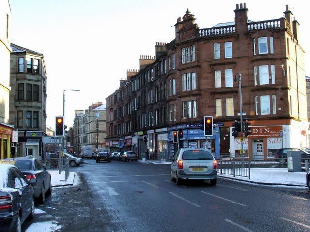 Pollokshaws Road at Nithsdale Street