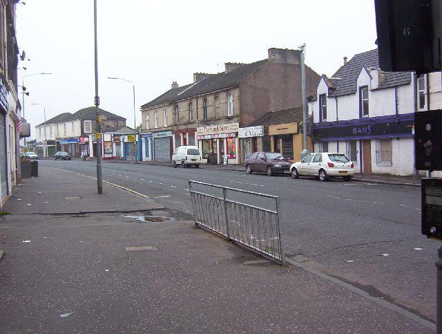 Baillieston, Main Street