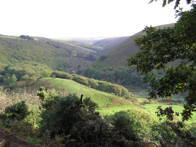 Near Robber's Bridge, Oare, Exmoor
