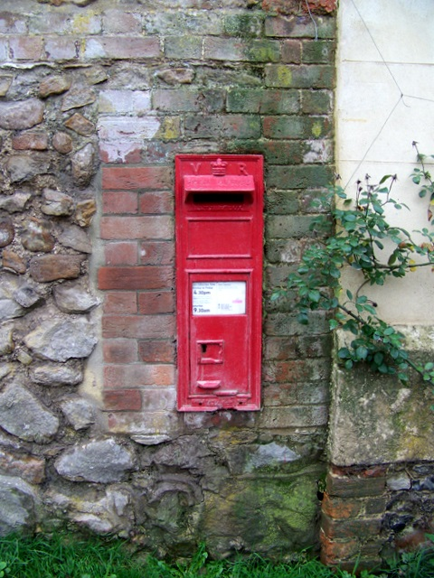 Postbox, Upper Lambourn