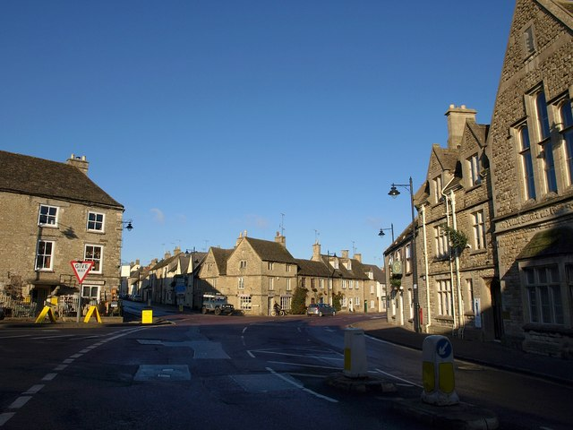 Road junction, Tetbury