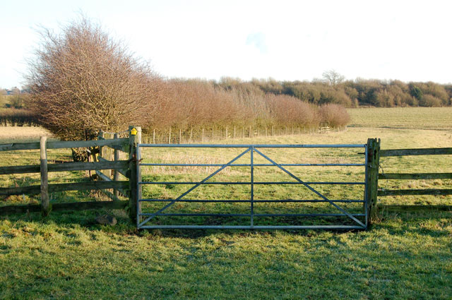 Gateway on the bridleway from Willoughby House to Braunston