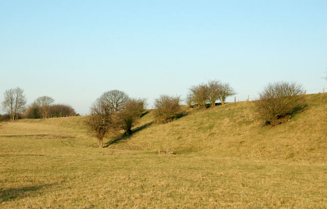 Embankment of the dismantled ex-Great Central Railway, Willoughby