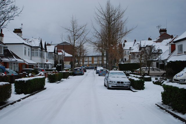 Elm Grove in the snow