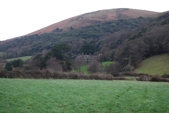 Looking towards Bossington Hill