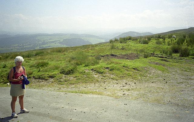 Road above Trefriw