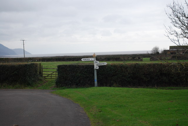 Signpost, Bossington Green