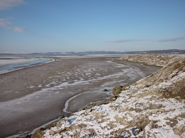 Keer Channel and Warton Sands