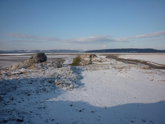 The slag peninsula, Warton Sands