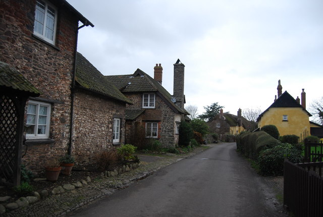 Bossington Village
