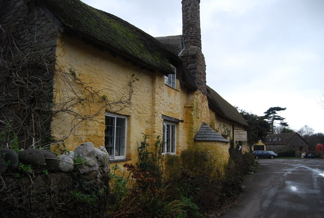 Thatched cottage, Bossington