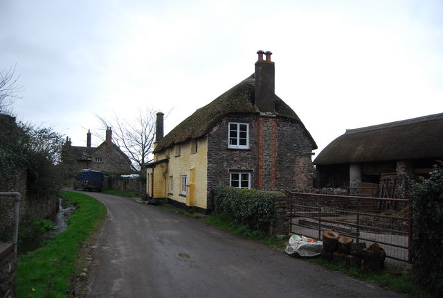 Thatched cottage, Bossington