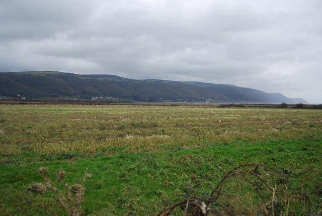 Looking across Porlock Bay