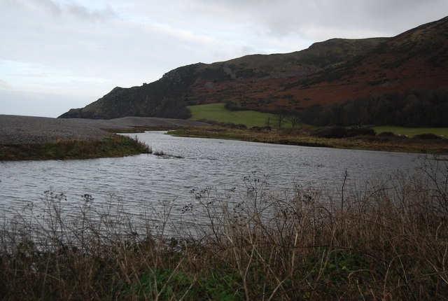 Lake at the end of Horner Water