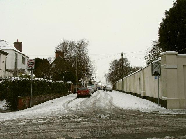 Coronation Street leading away from Boutport Street