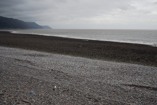 Low tide, Porlock Beach
