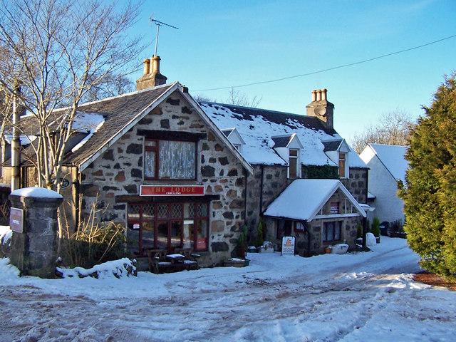 The Lodge at Edinbane