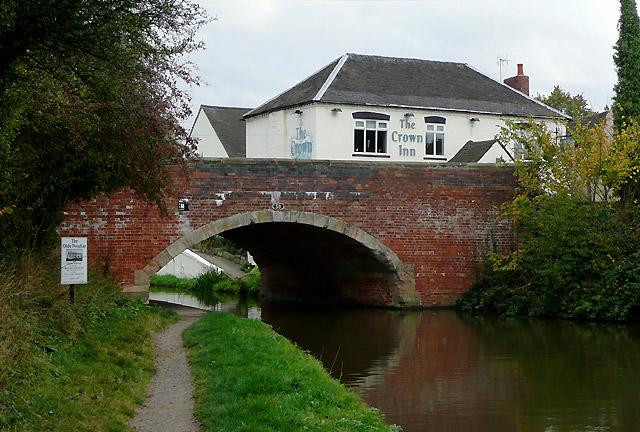 Bridge No 58 at Handsacre, Staffordshire