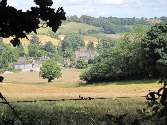 Minterne House & Minterne Magna from East Hill