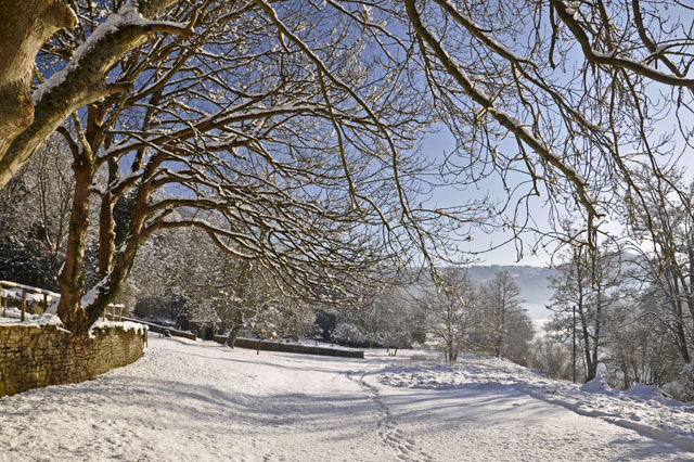 By Welsh Bicknor Youth Hostel