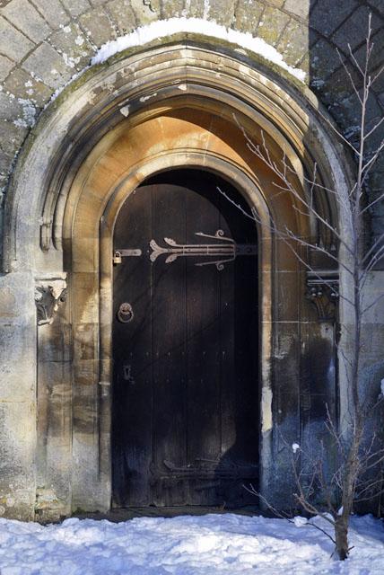 Doorway, Welsh Bicknor Church