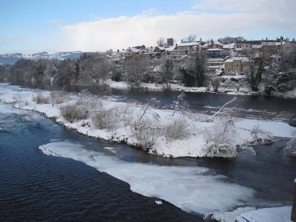 Corbridge and The River Tyne