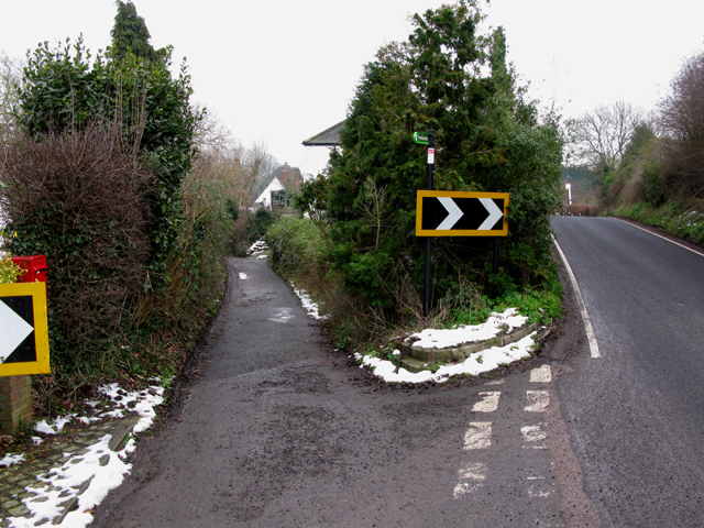 Road to Marshborough and Marshborough Road