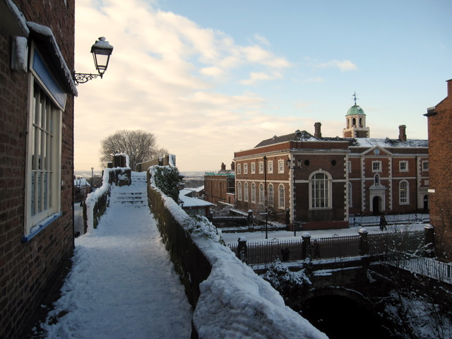 Northgate in the snow