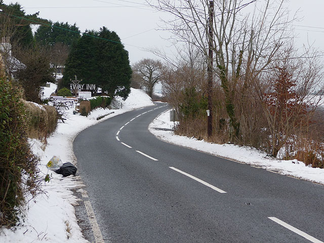 The A4120 thaws out in Pisgah