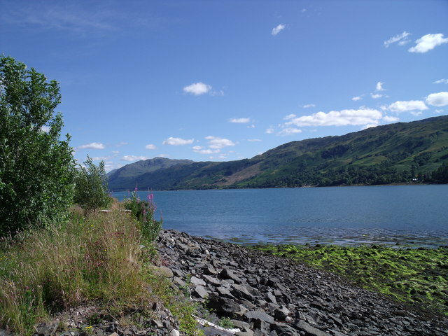 Loch Duich, south shore