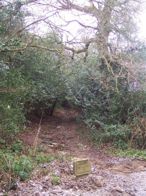 Bridleway on Sleeper's Stile Road