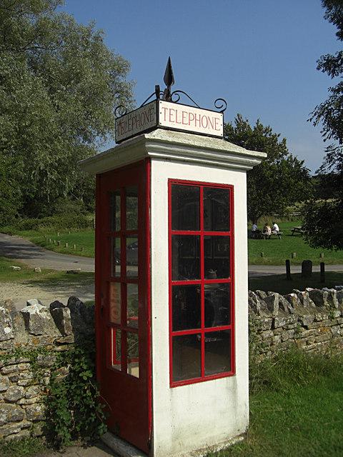 Phone box, Tyneham