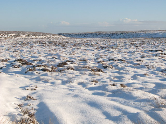 The snowy cleugh of Lambsrigg Sike