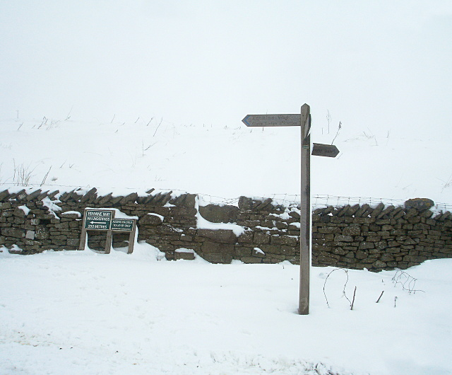 Pennine Way hits the A66