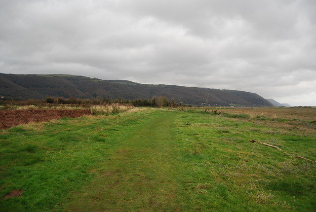 South West Coast Path across Porlock Bay