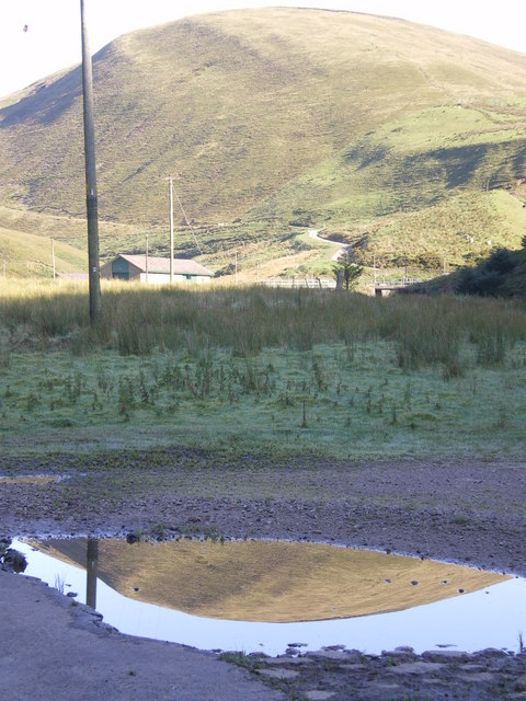 Middle Knoll and its puddled brother