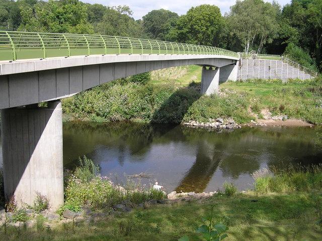 River Severn,Highley to Alveley footbridge